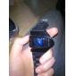 Montre LED Unisexe en Silicone (Noire)