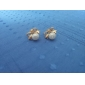 Earring Stud Earrings Jewelry Women Wedding / Party / Daily / Casual Alloy