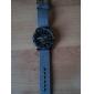 V6 남성 밀리터리 시계 손목 시계 석영 일본 쿼츠 섬유 밴드 블랙 블루 그레이