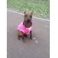 звезда картины хлопка куртки для собак (S-л, фиолетовый)