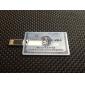 8gb usb flash drive carta blu american express digitato