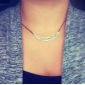 Women's Pendant Necklaces Crystal Alloy Fashion Jewelry For Party