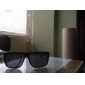 Men's UV400 Plastic Rectangle Full Frame Sunglasses