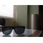 Mænds UV400 Plastic rektangel Full Frame solbriller