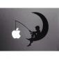Луна Pattern Apple Mac Наклейка Обложка наклейку кожи на 11