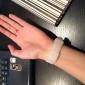 Masculino Mulheres Unissex Relógio de Moda Relógio de Pulso Relógio Casual Quartzo Colorido Silicone Banda CasualPreta Branco Azul Rosa