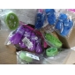 Lotus Root Slice Style Tooth Cleaning Green Loofah Pet Toys (Random Color)