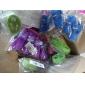 lotus rod skive stil tandrensning grøn loofah PET legetøj (tilfældig farve)