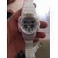 Мужской Наручные часы Кварцевый LCD Календарь Секундомер С двумя часовыми поясами тревога Pезина Группа Черный Белый Красный Фиолетовый