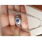 Белый Ожерелья с подвесками Сплав Повседневные Бижутерия