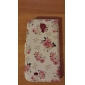 For Samsung Galaxy Case Wallet / Card Holder / with Stand / Flip / Pattern Case Full Body Case Flower PU Leather Samsung S4