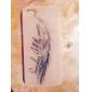 Pour Coque iPhone 5 Etuis coque Phosphorescent Coque Arrière Coque Plume Dur Polycarbonate pour iPhone SE/5s iPhone 5