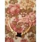 oro plegable plateado collar de la aleación con forma de media luna (colores surtidos)