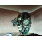 Reloj Brazalete Analógico para Mujer con Diseño de Mariposa y Correa de Cuero (Varios Colores)