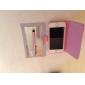 Для Кейс для iPhone 5 Кошелек / Бумажник для карт / со стендом / Флип Кейс для Чехол Кейс для Цветы Твердый Искусственная кожаiPhone