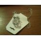 Серебряный Ожерелья с подвесками Сплав Для вечеринок / Повседневные Бижутерия