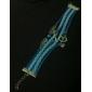 Pulseiras Enrole Pulseiras Liga / Tecido Infinidade Inspirador Diário Jóias Dom Azul