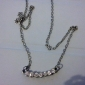 Женский Ожерелья с подвесками Сплав Имитация Алмазный Камни по месяцу рождения Бижутерия Для вечеринок