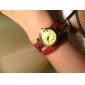 Women's Watch Bohemian Style Leather Band Bracelet