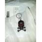 Crâne Style 2-LED Mini Red poche porte-clés - 1pcs (3 x AG3)