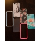 Transparent Bumper TPU Soft Case for iPhone 5/5S (Assorted Colors)