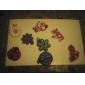 bricolage twistz silicone de couleur arc-en-style de métier pour les enfants (12pcs)