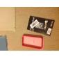Custodia anti-urto con tasti in metallo per iPhone 4 e 4S