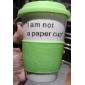 383ML는 세라믹 컵 찻잔 (녹색)