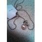 Женский Ожерелья с подвесками Жемчужные ожерелья Жемчуг Сплав Мода бижутерия Бижутерия Назначение Для вечеринок