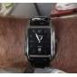 CURREN® Men's Calendar Function Rectangle Case Leather Band Quartz Analog Wrist Watch (Assorted Colors) Cool Watch Unique Watch Fashion Watch