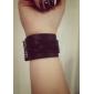 Ретро стиль панк ПУ кожаный полоса Дизайн браслета