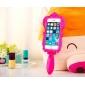 Pour Coque iPhone 5 Antichoc Coque Coque Arrière Coque Dessin Animé 3D Flexible Silicone iPhone SE/5s/5