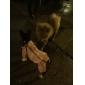 Собаки Дождевик Красный / Желтый / Розовый Одежда для собак Весна/осень Буквы и цифры