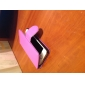 Etui Portefeuille à Boucle en Similicuir pour iPhone 5S/5G, Fonction Support