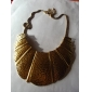 Collier en alliage de punk coquille