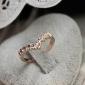 Кольца Свадьба / Для вечеринок / Повседневные Бижутерия Сплав Женский Массивные кольца6 Золотой