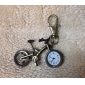 Unisex Alloy Analog Quartz Keychain Watch with Bicycle (Bronze)
