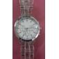 Plastic Band Quartz Wrist Watch For Women