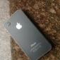 прозрачный мягкий чехол кейс тонкий ПК для iPhone 4 / 4S (разных цветов)