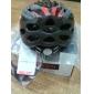달의 순환 PVC + 22 통풍구 EPS 슈퍼 라이트 레드 + 블랙 자전거 / 자전거 헬멧