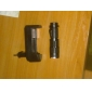 3 LED Flashlights/Torch Handheld Flashlights/Torch LED 250 Lumens 3 Mode Cree XP-G R5 Nonslip grip for Multifunction Black