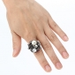 Z&X®  Women's Roses Open Pearl Ring