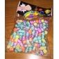 радуга красочные ткацкий станок резиновые Группа цвет макропористая флуоресценции письмо шарики 200 шт