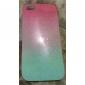 Toophone® JOYLAND Gradient Pink Glitter Powder TPU Soft Back Case for iPhone 5/5S