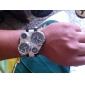 男女兼用 PUアナログクォーツ腕時計(多色)
