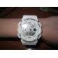 Men's Watch Sports Multi-Function LCD Dial Rubber Band