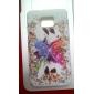 Farfalla Case design morbido per Samsung Galaxy S2 I9100