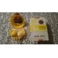 lentes de contato amarelas pato caixa de cor aleatória