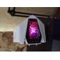 Мужской Наручные часы электронные часы LED LCD Календарь Секундомер тревога Цифровой силиконовый Группа Белый