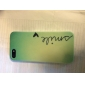 Smile Butterfly Pattern Hard Back Cover Case for iPhone 5/5S